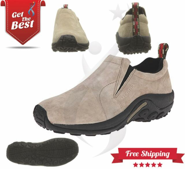 08ed020d59 Mens Merrell Jungle MOC 63811w Comfortable Slip on Leather Classic ...
