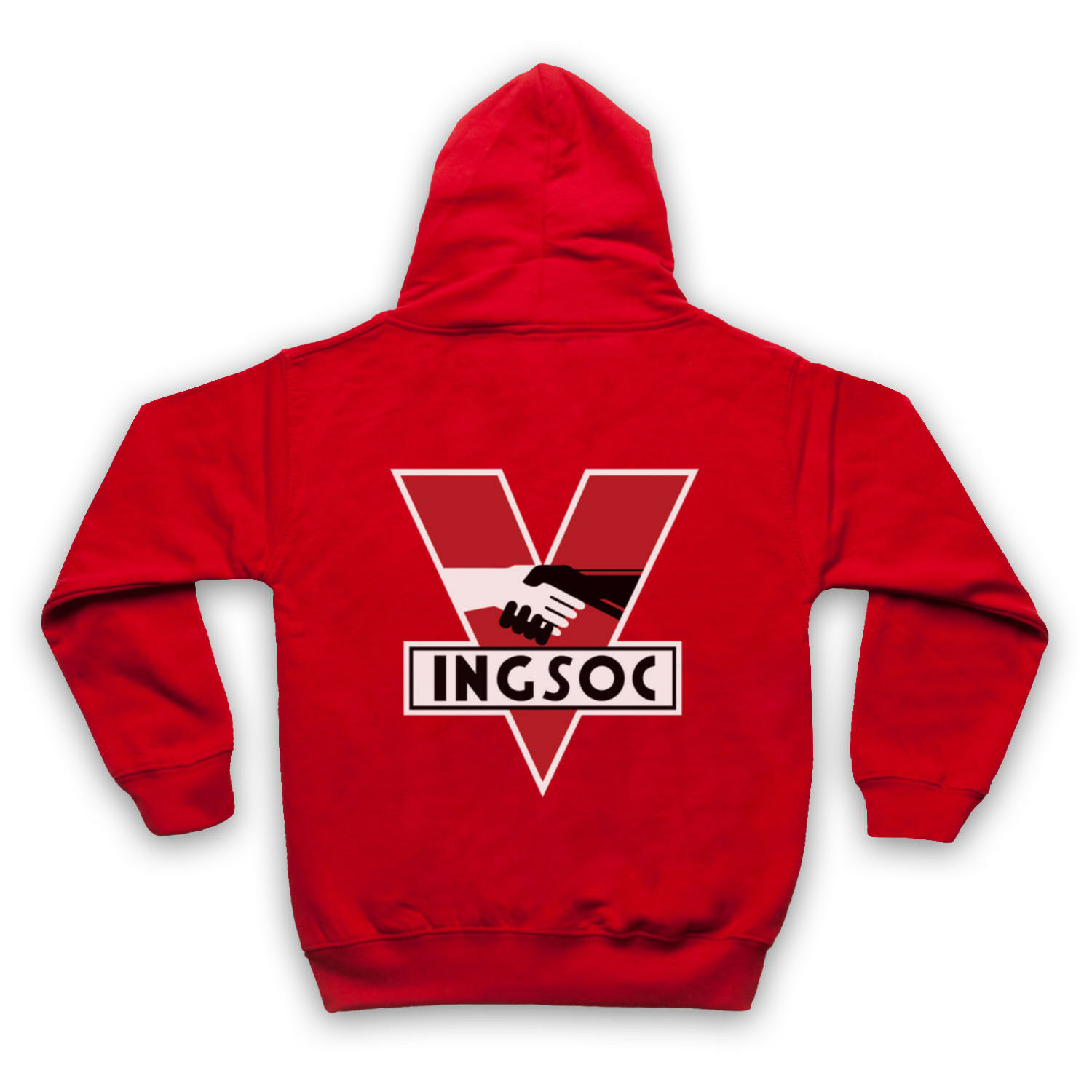 NINETEEN EIGHTY-FOUR 1984 INGSOC INGSOC INGSOC POLITICAL PARTY LOGO ADULTS & KIDS HOODIE | Ausgezeichnet