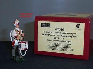 Britains 49040 Redcoats Batteur Britannique 48ème Régiment De Foot 1755 Jouet Soldat 884101490409
