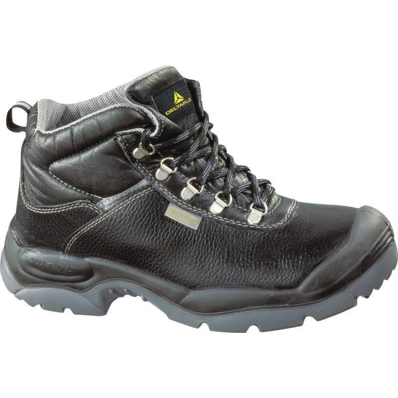 Delta Plus SAULT S3 Wide Fit Safety Work Boots Black (Sizes 7-12) Men's Shoes
