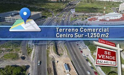 Terreno Comercial Mixto en Centro Sur - 1,250 m2, pasos de Centro Cívico, Ganalo