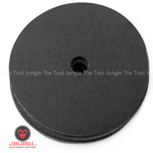 5 inch Silicon Carbide Sand Paper Wet//Dry Hook/&Loop  Granite Marble Concrete