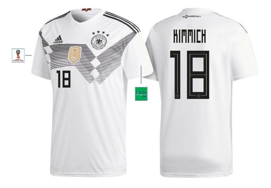 Trikot Adidas DFB WM 2018 Home Home Home - Kimmich 18  Deutschland Germany aa740d