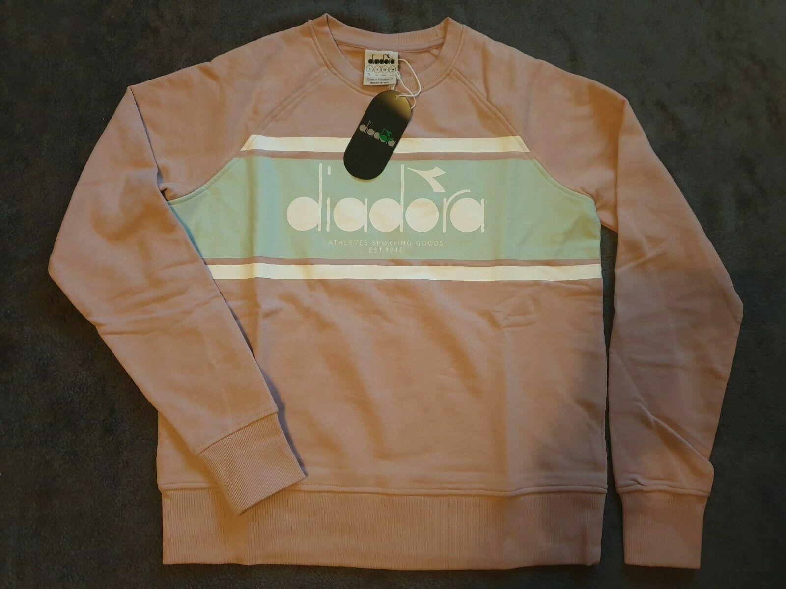 NEW Diadora Women's Sportswear Crew Spectra Sweatshirt Jumper Medium RRP