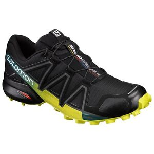 Details about Trail Running Shoes Salomon Gin 4 Black Everglade 2018 show original title