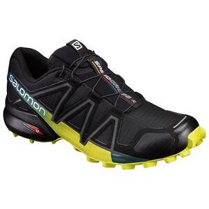 Trail Running Schuhe SALOMON SPEEDCROSS 4 Schwarz Everglade
