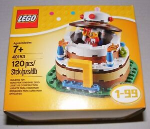 Image Is Loading LEGO 40153 Birthday Cake Table Decoration W Jester