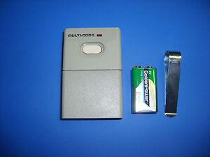 Linear Garage Door Opener Remote