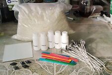 Deluxe Soy Candle Making Kit  5 lb wax, dye, wicks & wick tabs, fragrance, more
