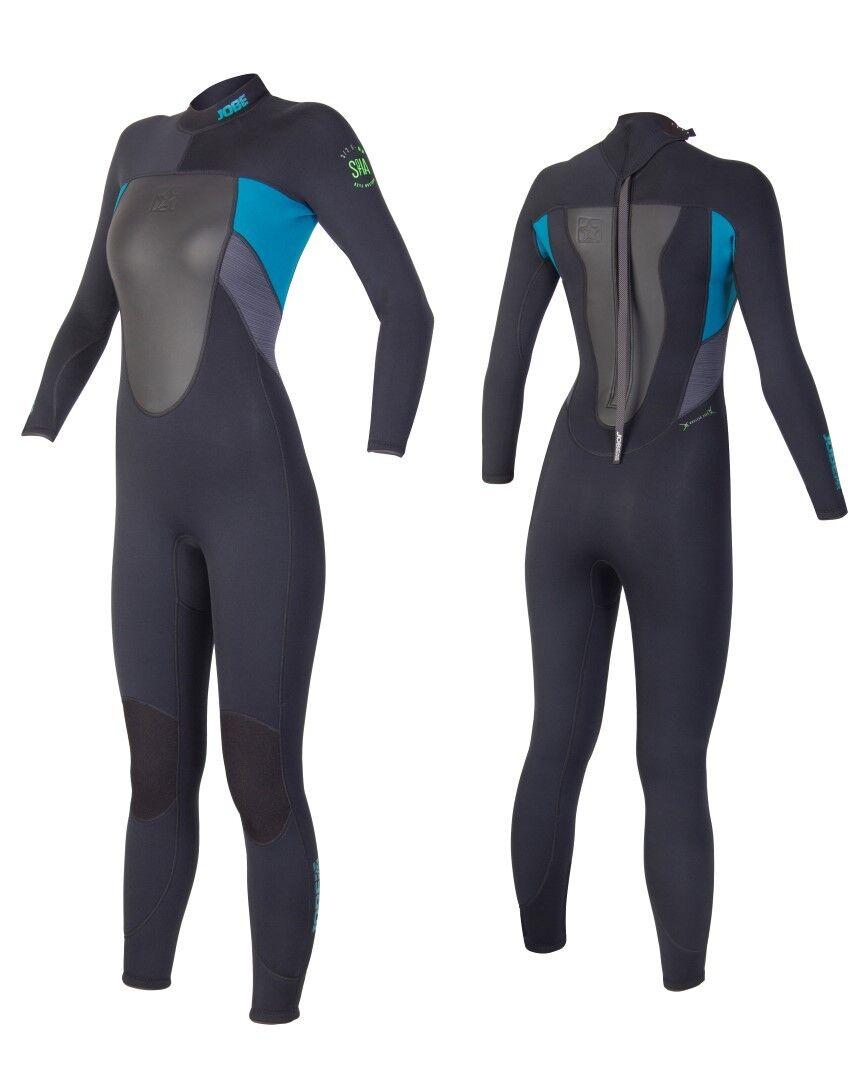 Jobe sofía FH negro Lady full wetsuit neopreno traje surf kite moto acuática Jetski wakeboar j16