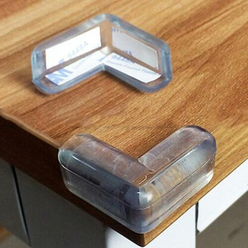 20pcs Clear Baby Safety Table desk Edge Corner Cushion Guard Bumper Protector Y2