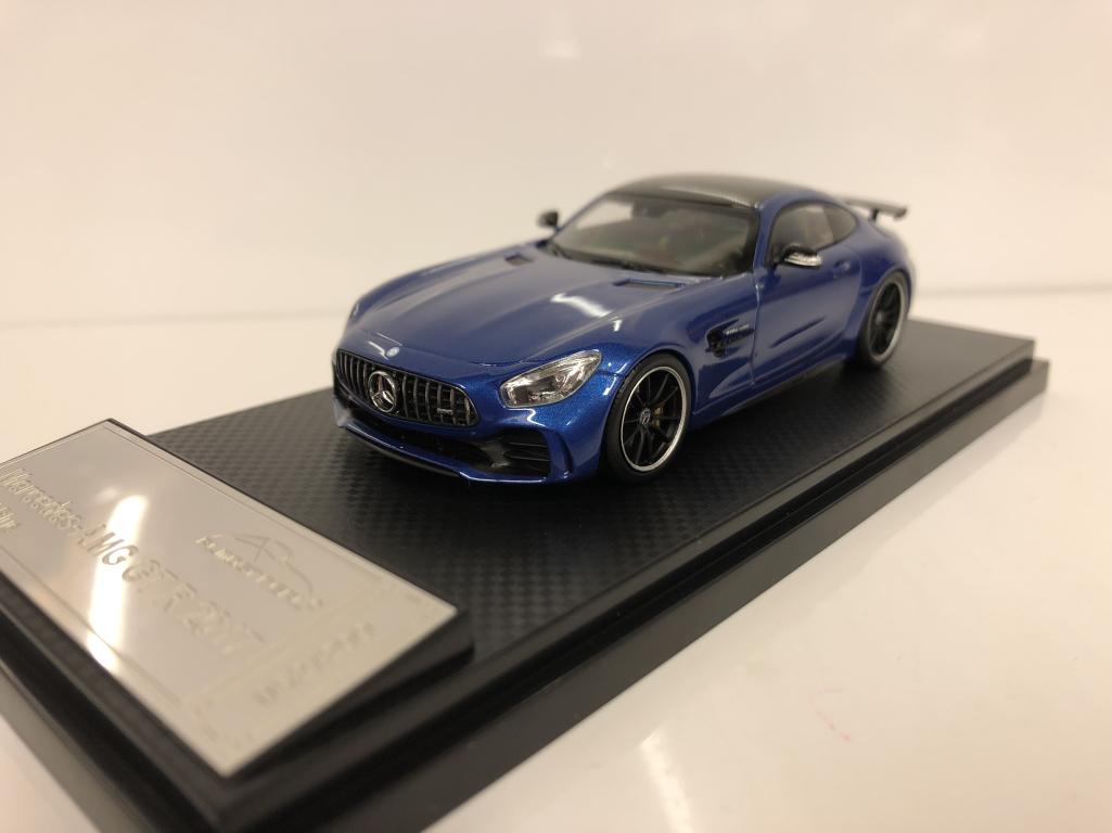 Almost Almost Almost Real 420707 Mercedes AMG Gt R 2017 Métal Bleu 1:43 Echelle Ltd 0581e9