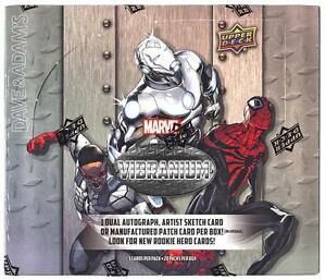 Marvel-VIBRANIUM-Trading-Card-Hobby-Box-2015-UPPER-DECK-ARTIST-AUTOS
