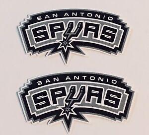 2x San Antonio Spurs Car Bumper Laptop Wall Vinyl Die Cut