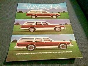 Ford 1981  Fold-Out Brochure