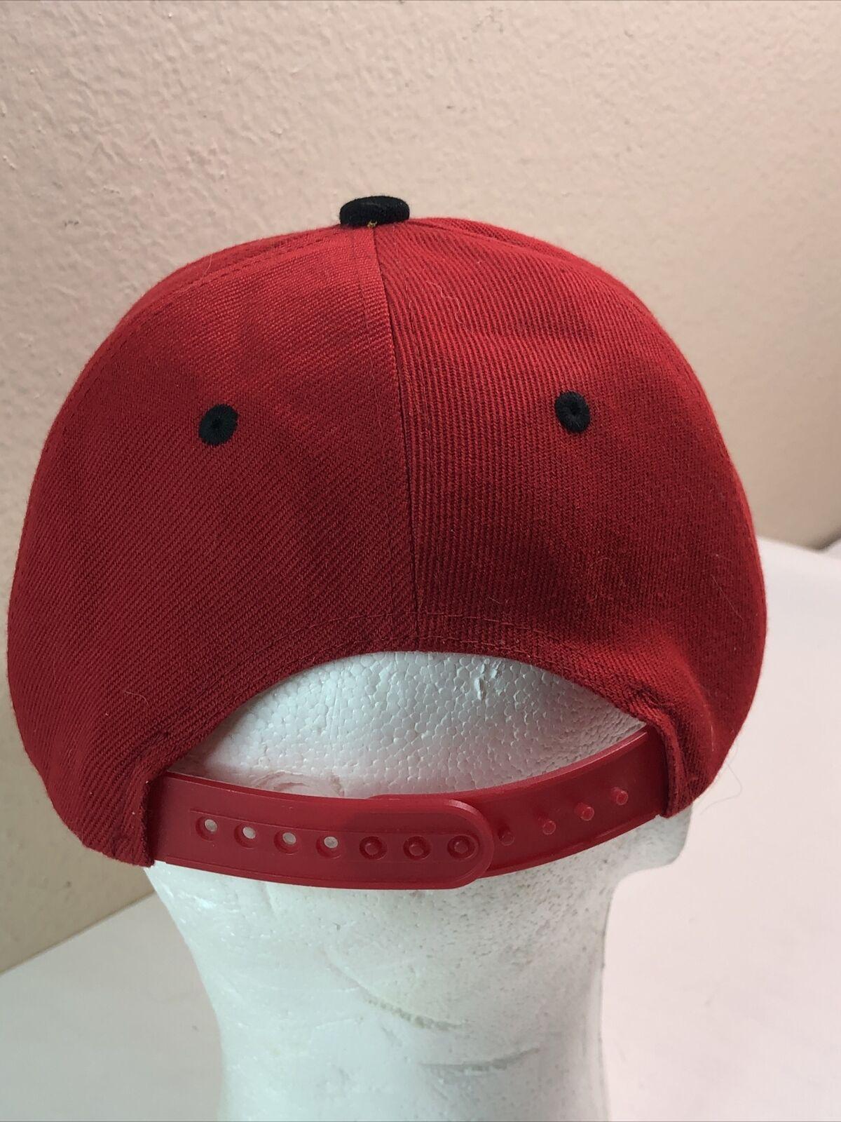 Harley Quinn Snapback Hat Cap Red - image 6