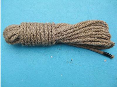 10M/32FT Hemp Rope Genuine Color 10 Meters Bondage Simply Treated