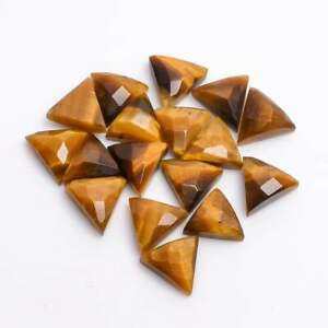 Square Shape Cabochon size 10x10 mm Green Onyx Pyramid Cut 10 pcs