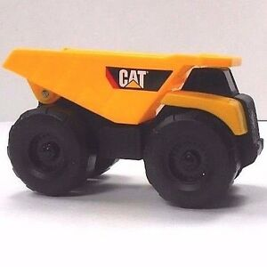 Cat Dump Truck Toy Plastic Toy State 3.25 Inches Long