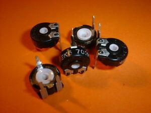 5x Trimmer 2,5 kOhm liegend Piher PT10MV Trimmpoti