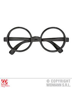 575e711f6a Childs Kids Round Glasses Potter Wizard Specs Book Week Fancy Dress ...