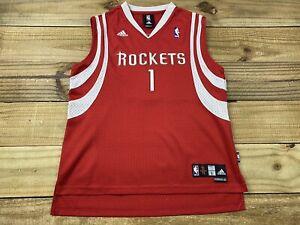Adidas Swingman Houston Rockets Tracy McGrady #1 Jersey Youth L 14 ...