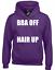 BRA OFF HAIR UP HOODY HOODIE FUNNY CUTE SUMMER FASHION DESIGN TUMBLR INSTAGRAM
