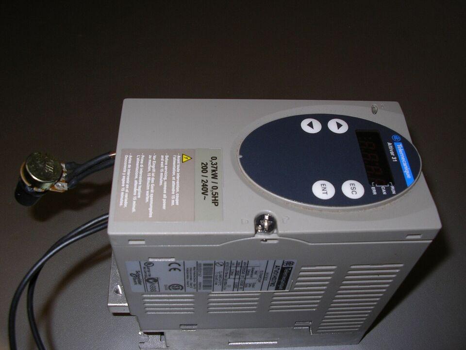 Frekvensomformer, telemecanique