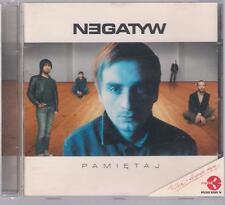 NEGATYW - PAMIETAJ 2004 MYSLOVITZ MIETAL WALUS TOP RARE OOP CD POLSKA