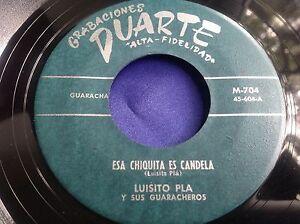 Hear-selten-Latin-GUARACHA-45-Luisito-PLA-y-sus-Guaracheros-ESA-Chiquita