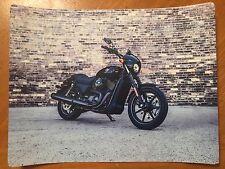 Tin Sign Vintage Metal 2014 Harley-Davidson 750 Street Motorcycles