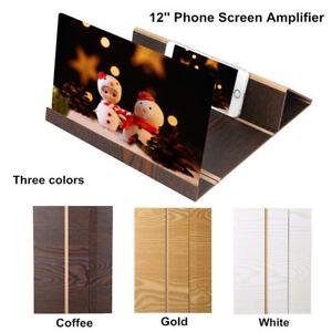 12-039-039-3D-Phone-Screen-Magnifier-Stereoscopic-Amplifier-Stand-Desktop-Wood-Bracket
