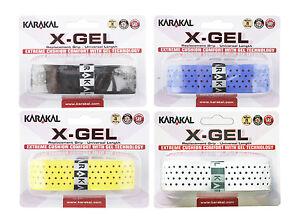 Karakal X-gel Remplacement Grip-tennis-badminton-gel Poignées Squash-afficher Le Titre D'origine