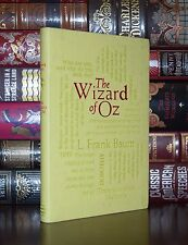 The Wizard of Oz by F. Baum Unabridged Illustrated Deluxe Soft Leather Feel Ed