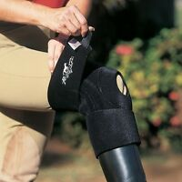 Professionals Choice Black Miracle Knee Support Standard And Xl Size Horse Tack