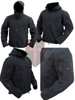 New Black Tactical Fleece Recon Hoodie ( All Sizes unisex military design