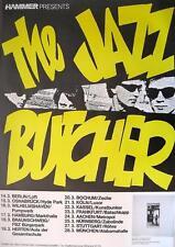 "JAZZ BUTCHER TOUR POSTER / KONZERTPLAKAT ""FISHCOTHEQUE TOUR"""