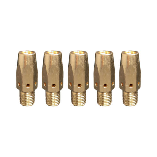 5-pk 169728 MIG Welding Gas Diffuser for Miller M-25//M-40 Hobart 169-728