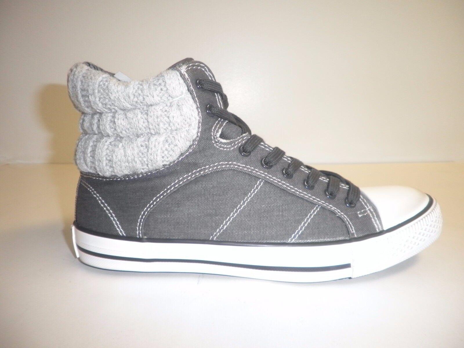 Splendid Size 5.5 M ESSEX Black Grey Fashion Sneakers New Womens Shoes
