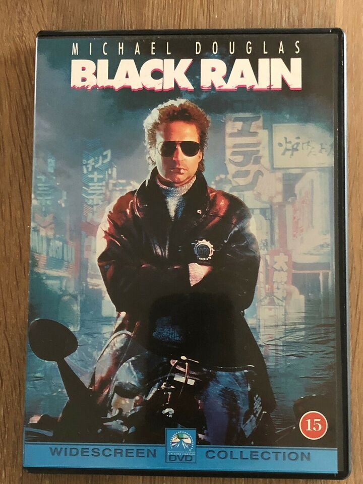 Black Rain, DVD, action