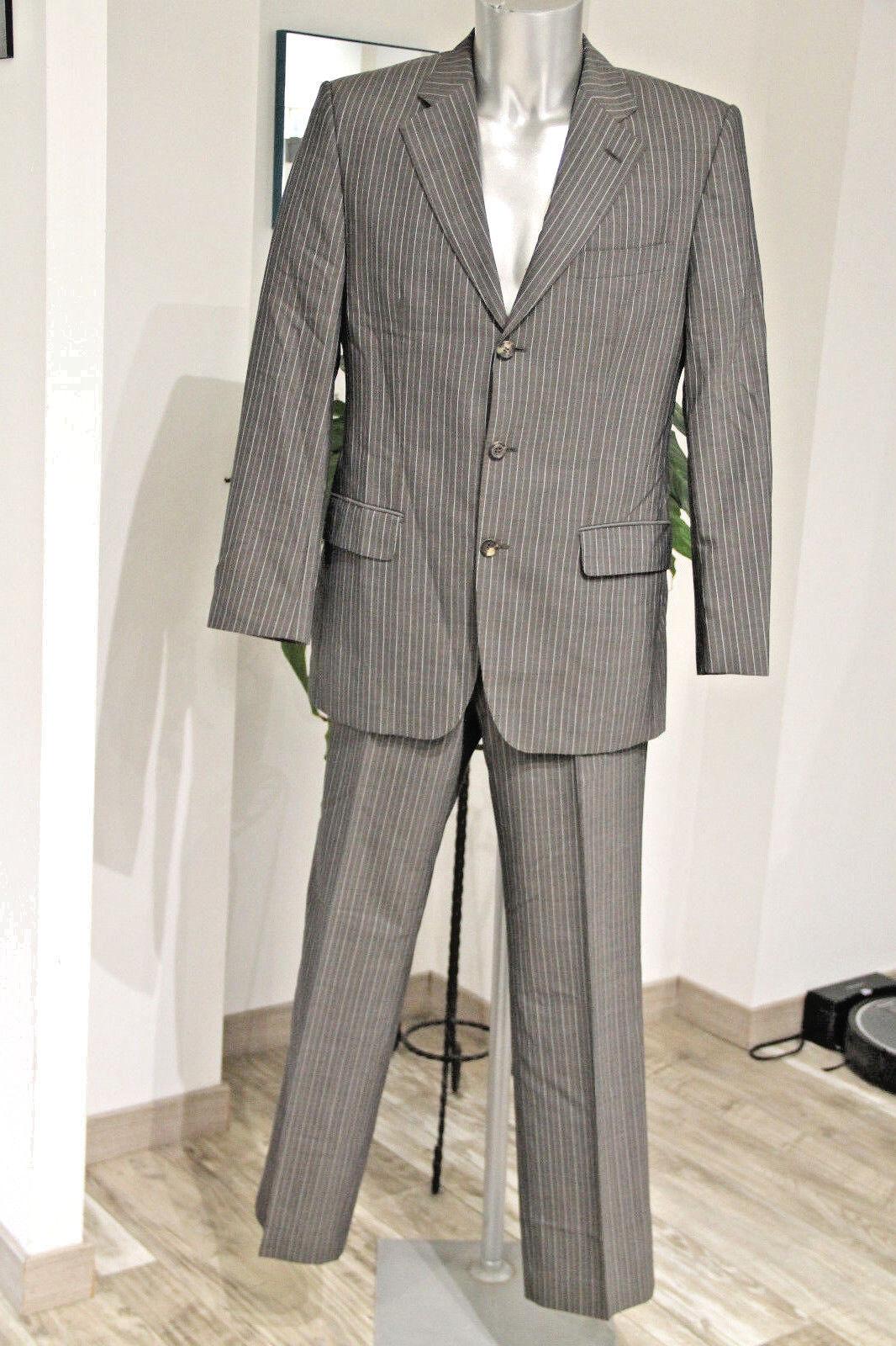 Joli costume marron rayé HUGO BOSS FLYNN/VEGAS Taille 48 soit 44 français