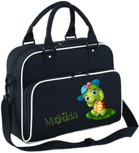 Wickeltasche Pflegetasche Windeltasche Teddy Lätzchen Babylatz Name und Motiv