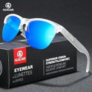732266700ef Image is loading KDEAM-Men-Polarized-Sport-TR90-Sunglasses-Women-Outdoor-