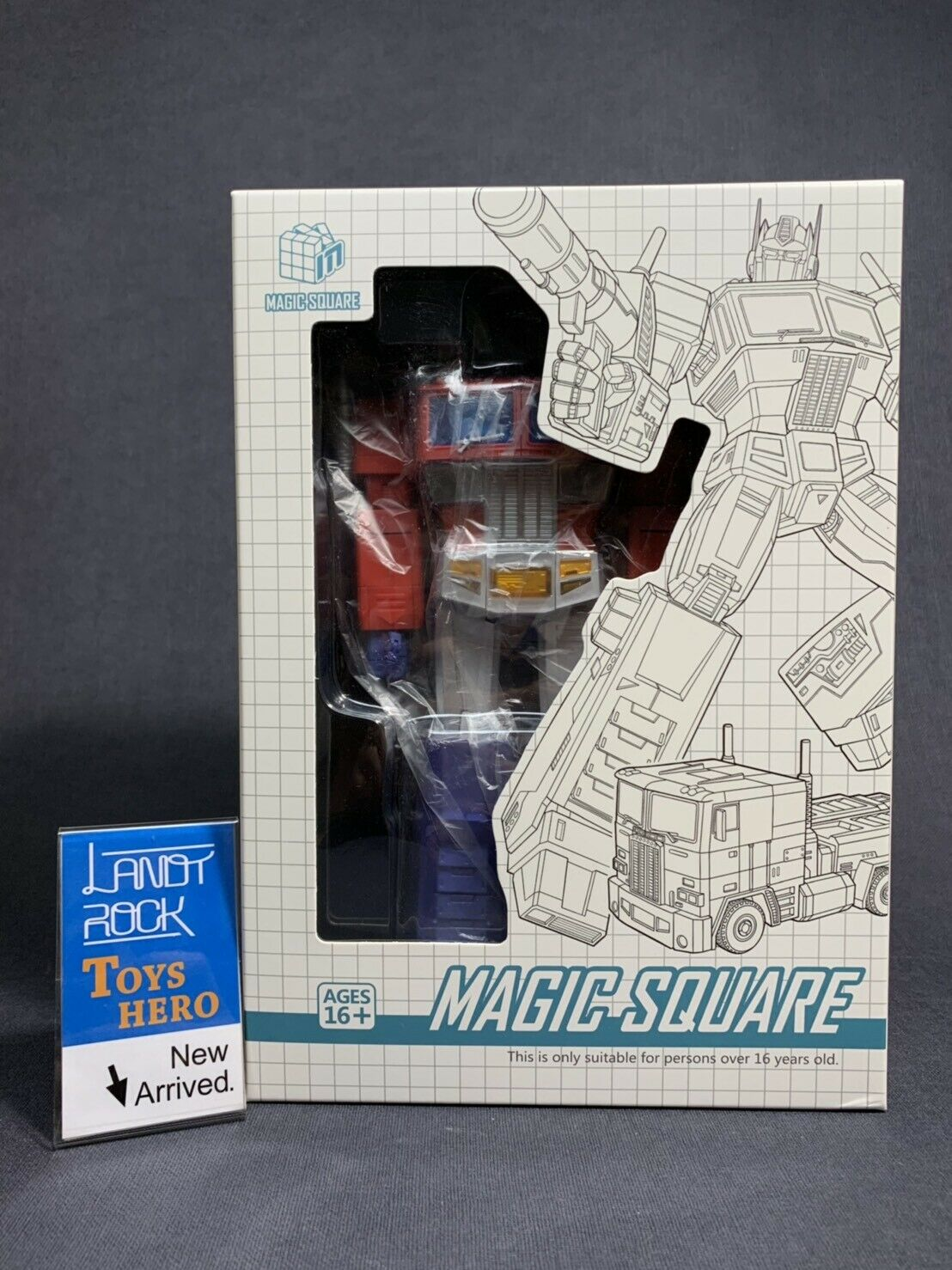 Juguetes héroe] en mano [Transformers Miss-TOYS MS-01X Optimus Prime máquina pistolas versión 3.0 MS01