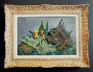 LILY MASSON (1920-2019) Fille du peintre André MASSON // Oeuvre Surréaliste (19)
