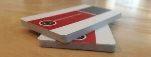 Silk Laminated Business Cards! Starting at $54.00 Canada Preview