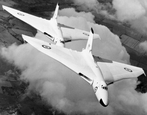 1/24 Scale Avro Vulcan Plans, Templates and Instructions 52ws