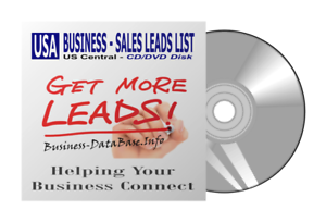 Business DataBase Sales Leads List US Central Region Telemarketing List
