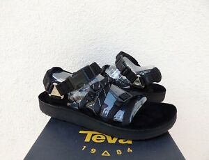 0ba6d617a62 Image is loading TEVA-ALP-PREMIER-EMMI-BLACK-STRAPPY-SPORT-SANDALS-