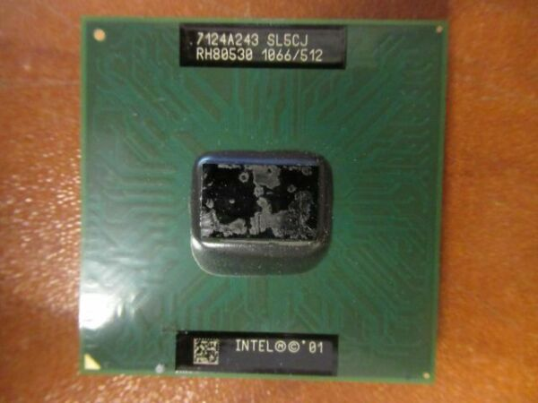 SL5CJ Intel CPU Processor PIII 1.2ghz 512k Pentium Mobile M 133 MHz FSB 1067ghz5